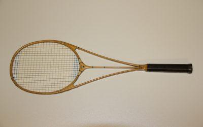 Hazell's Streamline Blue Star Racket.