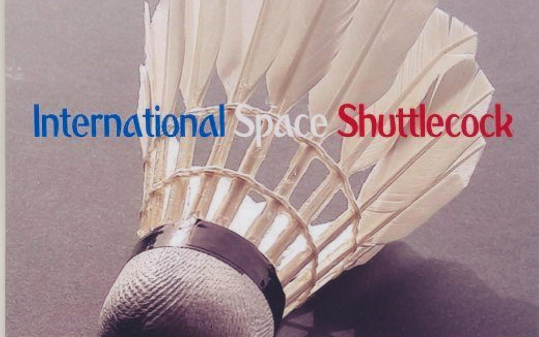 The shuttlecock that travelled 78 million miles before landing on the ground