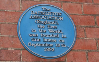 The First Badminton Association.