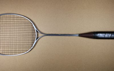 Birmal aluminium racket with steel strings c1924