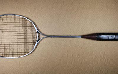 Birmal Aluminium Racket with Steel Strings c1924