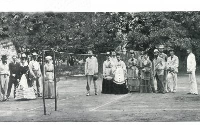 An Early Badminton Photograph from India.