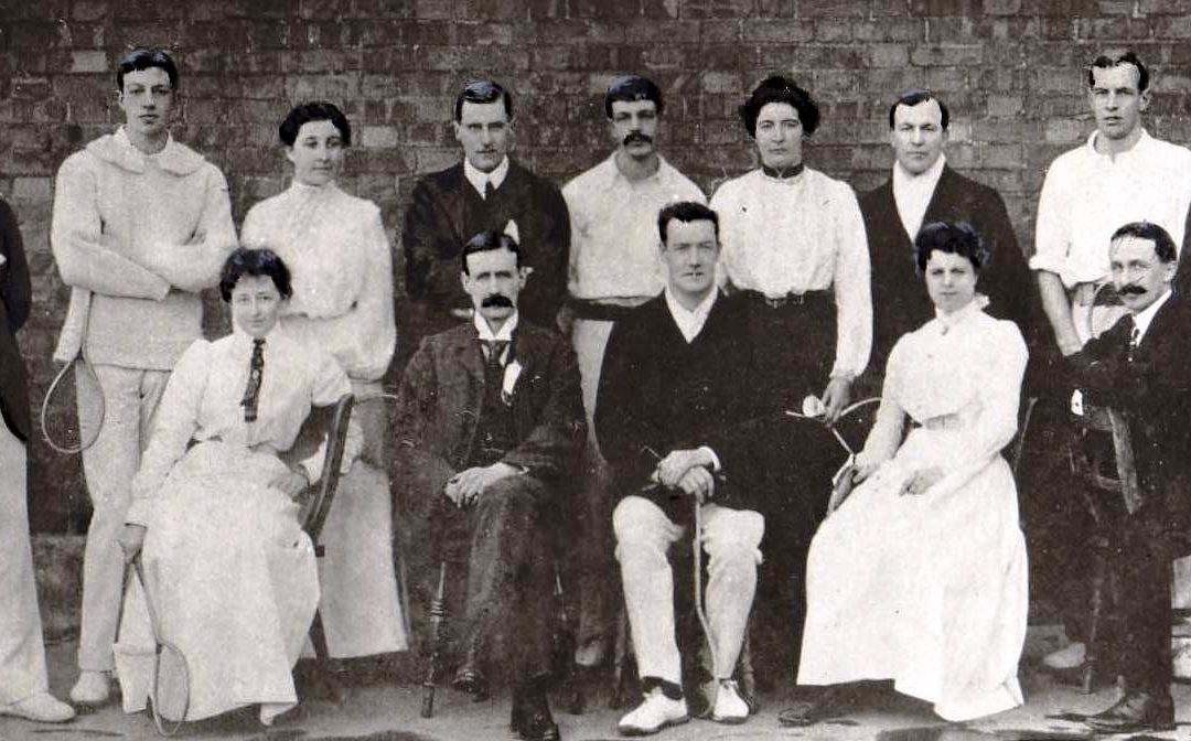 The First Ever International Badminton Match