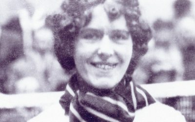 Marjorie Henderson – All-England Champion.