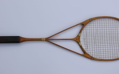 A Later Version of the Hazell's Streamline Blue Star Racket