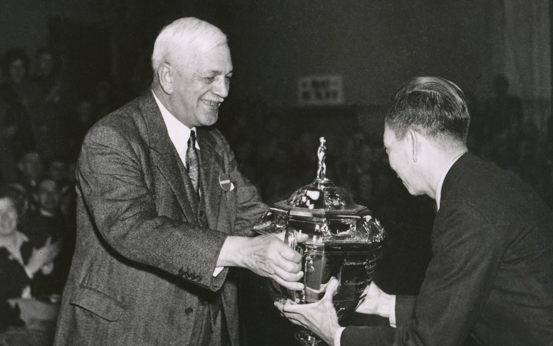 The First Thomas Cup Final